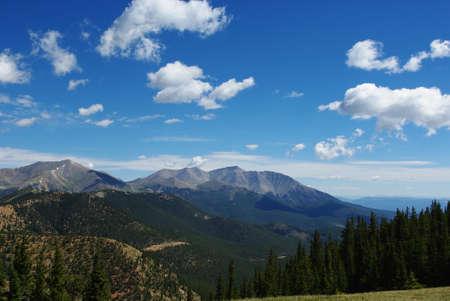 colorado mountains: Rockies near Cumberland Pass, Colorado