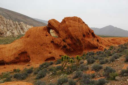 High desert rock, Nevada Stock Photo - 13723858