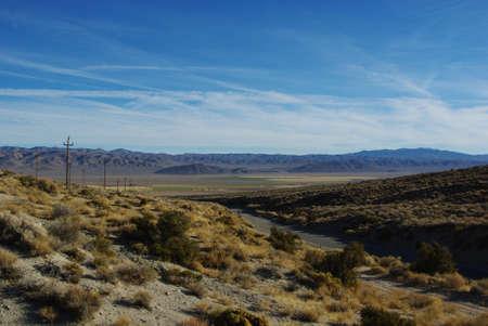 gilbert: High desert near Gilbert Pass, California