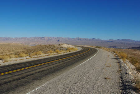 northshore: Northshore Road near Lake Mead, Nevada