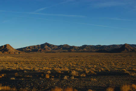 Early morning, Nevada desert Stock Photo - 14035859