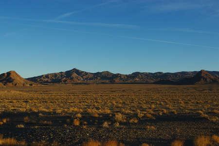 Early morning, Nevada desert Stock Photo - 14035859