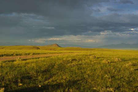 dillon: Evening near Dillon, Montana