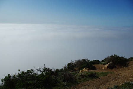 Fog on Pacific, California Stock Photo - 14035607