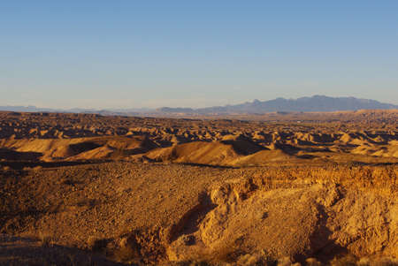 Desert near Overton, Nevada Stock Photo - 14128834