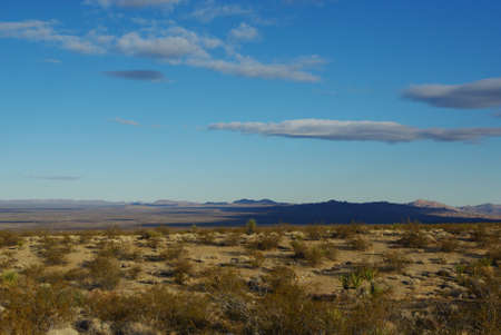 Far view towards Searchlight, Nevada