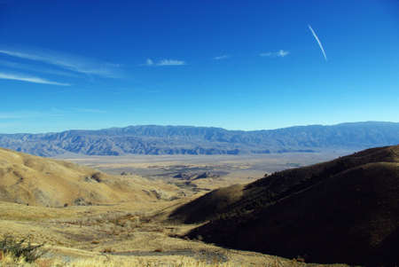 onion valley: View from Onion Valley Road, Sierra Nevada, California Stock Photo