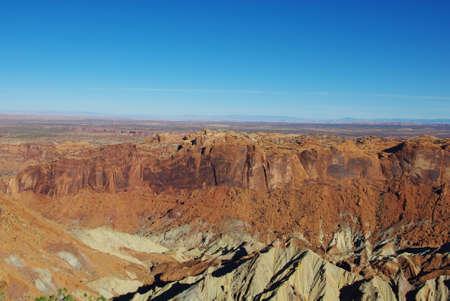 upheaval: Scenery near Upheaval Dome, Utah