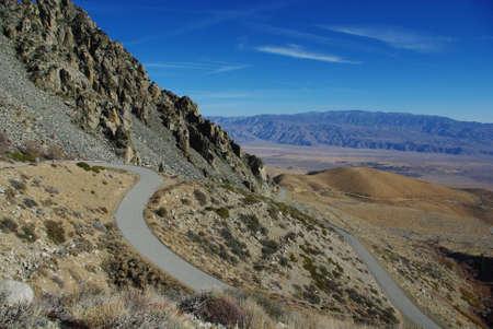 onion valley: Onion Valley Road, Sierra Nevada, California