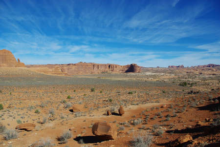 Secluded area of Arches National Park, Utah