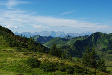 Mountain scenery near Portlahorn, Austria