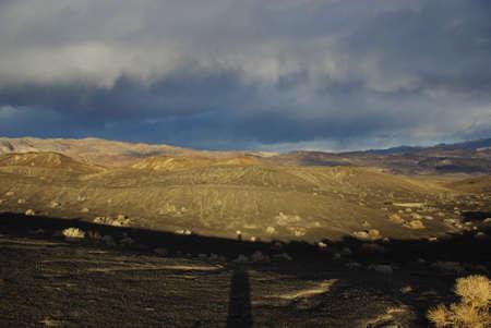 Near Ubehebe Crater, Death Valley, California Stock Photo - 16836124