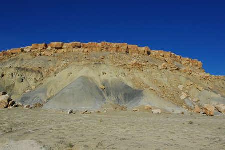 Colours in sandstone and rocks, Utah Stock Photo