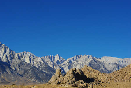 Mt Whitney, highest summit in the lower 48