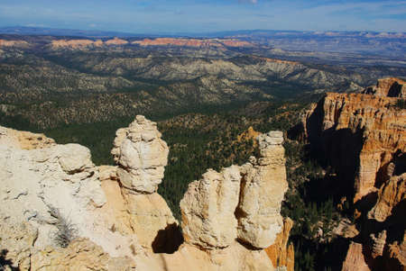 View from Bryce, Utah photo