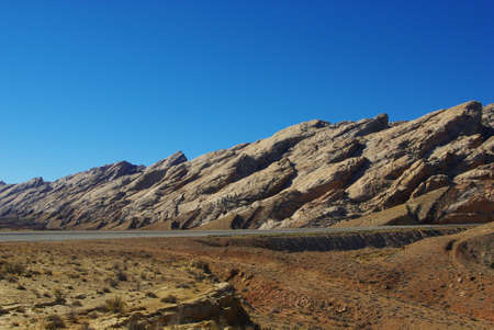 Particular rocks along I-70, Utah Stock Photo - 17183860