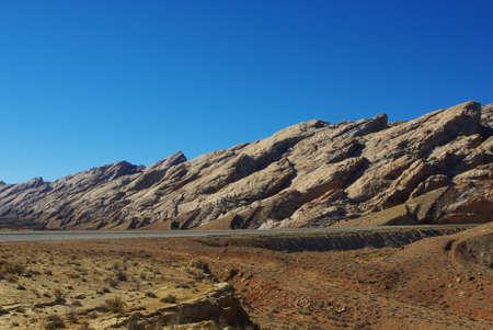 san rafael: Particular rocks along I-70, Utah