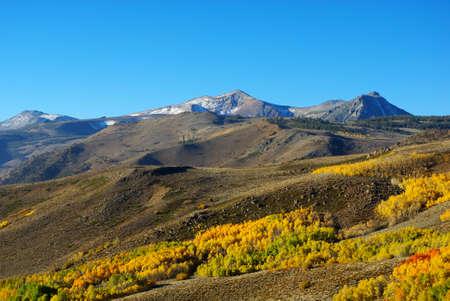 Autumn in high mountains, California