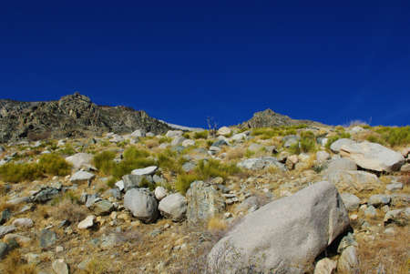 Colors of the high Sierra Stock Photo