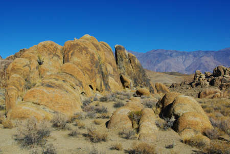 Alabama Hills impression Stock Photo