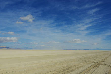 Vastness of Black Rock Desert, Nevada