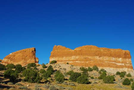 Scenery along highway 98, Arizona Stock Photo