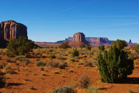 Monument Valley scenery Stock Photo