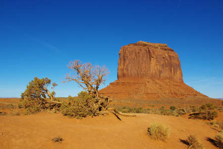 Beauty of Monument Valley Stock Photo