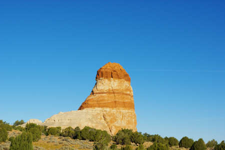 Beautiful rock near Kaibito, Arizona Stock Photo