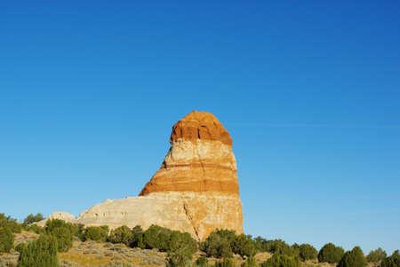 Beautiful rock near Kaibito, Arizona Stock Photo