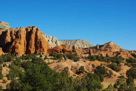 Kodachrome scenery, Utah Stock Photo