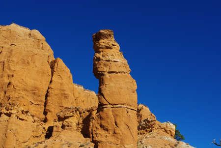 Rock tower, Kodachrome