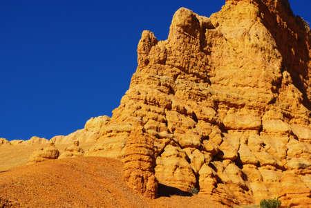 Orange rocks, Utah Stock Photo