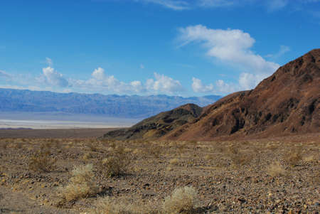 Above Death Valley Stock Photo