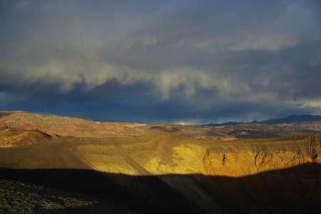 Above Ubehebe Crater, California Stock Photo - 17723467