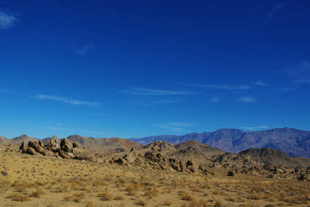Alabama Hills and Inyo Mountains, California