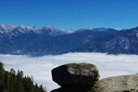 Exploring Sequoia National Park, California Stock Photo