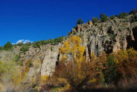 Autumn in a canyon near Beaver, Utah
