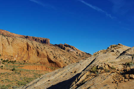 Beautiful rocks near Kayenta, Arizona