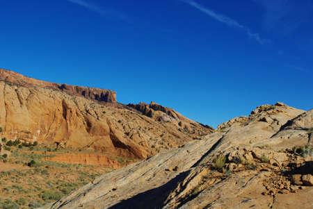 Beautiful rocks near Kayenta, Arizona