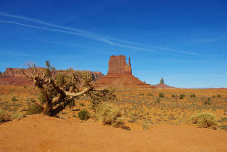 Monument Valley scenery Stock Photo