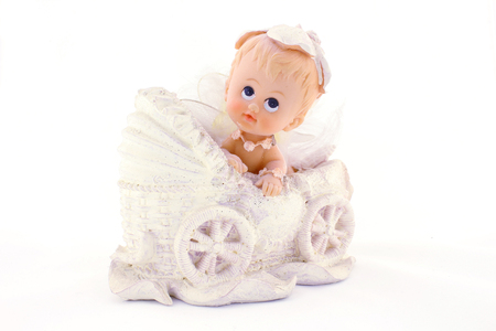 ni�o empujando: Baby in carriage