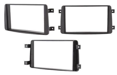 aftermarket: Car double DIN navigation frame