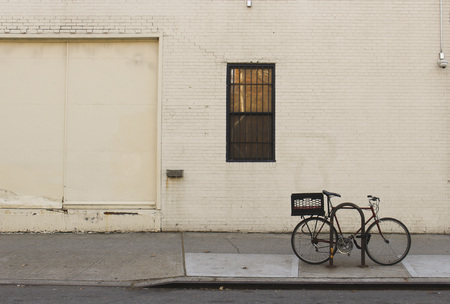 Bicycle outside building