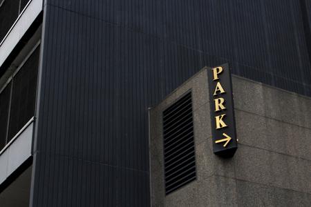 parkeerplaats teken Stockfoto