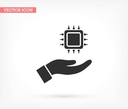 vector icon design 10 eps illustration Illusztráció