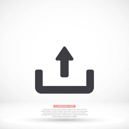 vector icon flat design 10 eps illustration