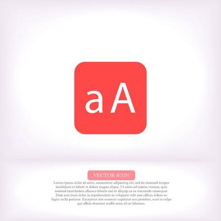 Vector icon 10 eps Illustration Flat design 矢量图像