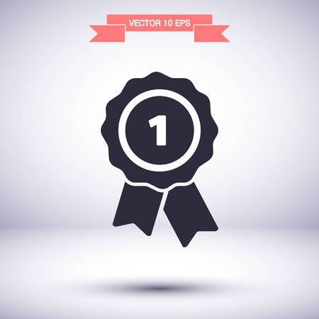 Vector icon 10 eps Flat design Lorem ipsum