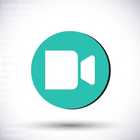 Flat design vector icon illustration
